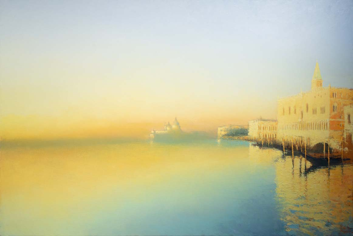 Davide Battistin | Summer sunrise (on Bacino San Marco)